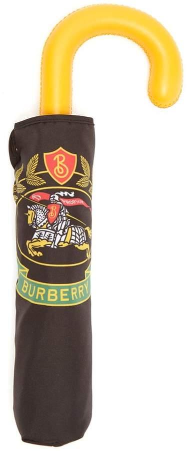 BURBERRY Crest-print umbrella