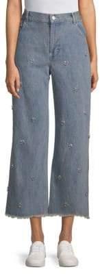 Swarovski Ghost Crystal Embellished Jeans
