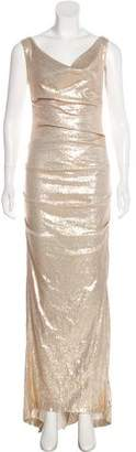 Nicole Miller Sequin Evening Dress