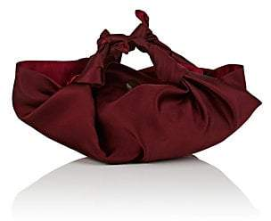The Row Women's The Ascot Small Satin Bag - Maroon