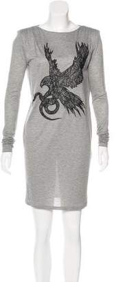 Emilio Pucci Embellished Knit Dress