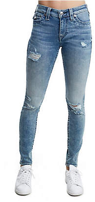 True Religion CURVY SKINNY FIT DISTRESSED JEAN