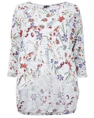 Chantelle Izabel London Curve Floral Printed Top