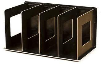 Christian Dior Mini Books Shelves, Hmane Creative Wooden DIY Desktop Shelves Multi-layer Book Sorting Bookends Storage Racks Office Carrying Shelves - 12x5.9x6.7in