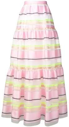 DELPOZO full layered skirt