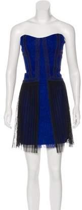 BCBGMAXAZRIA Lace Strapless Dress w/ Tags