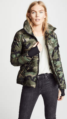 SAM. Camo Freestyle Short Down Jacket