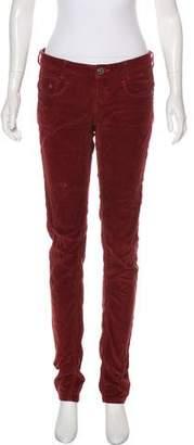 G Star Corduroy Low-Rise Pants