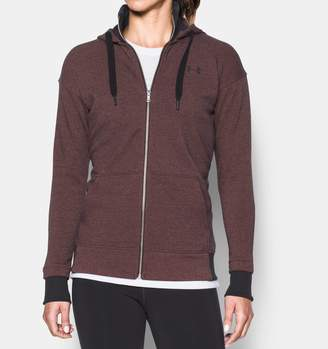 Under Armour Women's UA Threadborne Fleece Full Zip Hoodie