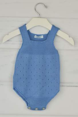 Granlei 1980 Blue Knitted Onesie