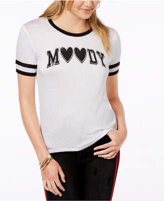 Rebellious One Juniors' Moody Graphic-Print T-Shirt