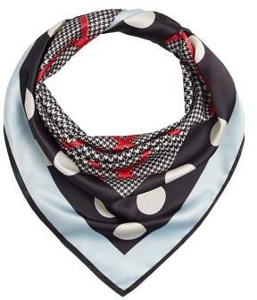 Violeta BY MANGO Mixed print scarf