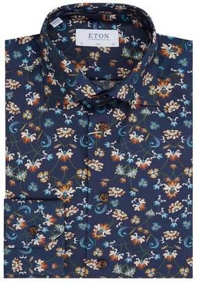 Eton Floral Slim Fit Shirt
