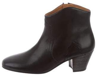 Etoile Isabel Marant Dicker Leather Ankle Boots w/ Tags