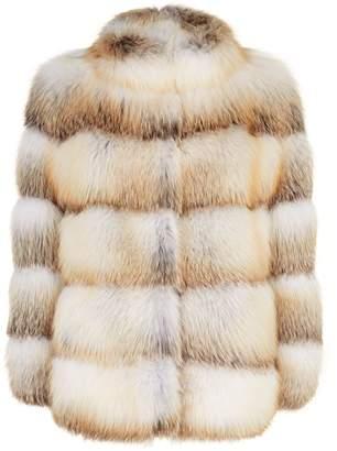 Olga Lilly E Violetta Fox Fur Jacket