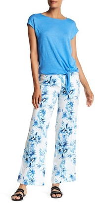 Tommy Bahama Waterfall Linen Floral Pant $118 thestylecure.com