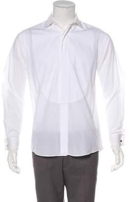 Hermes French Cuff Tuxedo Shirt