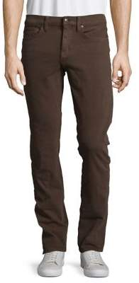 Joe's Jeans Buttoned Slim-Fit Jeans