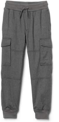 Gap Jersey-lined herringbone cargo pants