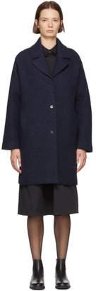 YMC Navy Wool Heroes Coat