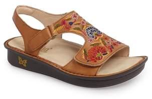 Alegria Viki Embroidered Sandal