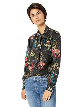 Parker Women's Roberta Long Sleeve Button Front Blouse