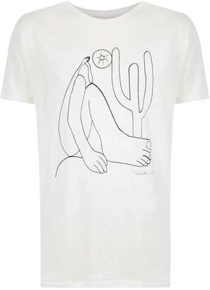 OSKLEN 'Abaporu' print T-shirt