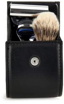 Lorenzi Milano - Travelling Shaving Set - Black