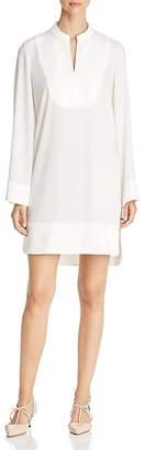 Paule Ka Satin Detail Tunic Dress