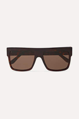 Andy Wolf - Austin D-frame Acetate Sunglasses - Black