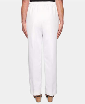 Alfred Dunner In The Navy Pull-On Pants