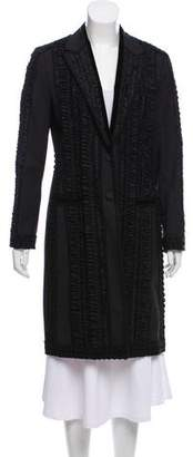 Dolce & Gabbana Embroidered Long Coat