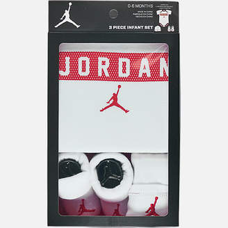 Nike Infant Air Jordan Jersey Bodysuit 3-Piece Box Set