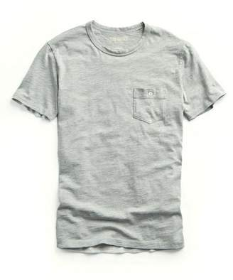 Todd Snyder Made in L.A. Pocket Tee in Grey Heather