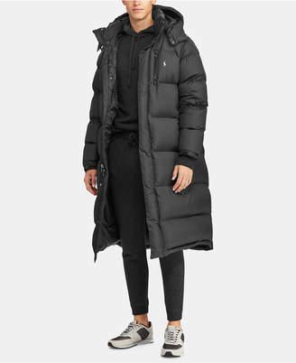 Polo Ralph Lauren Men's Hooded Ripstop Down Coat