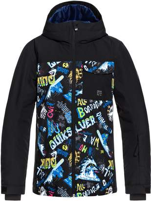 Quiksilver Mission Block Waterproof Insulated Jacket