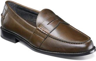 Nunn Bush Noah Men's Moc Toe Dress Penny Loafer Shoes