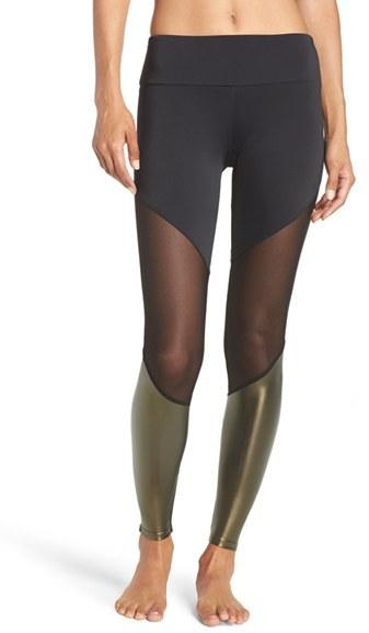 Women's Onzie Colorblock Track Leggings