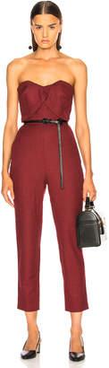 Zeynep Arcay Plaid Wool Jumpsuit