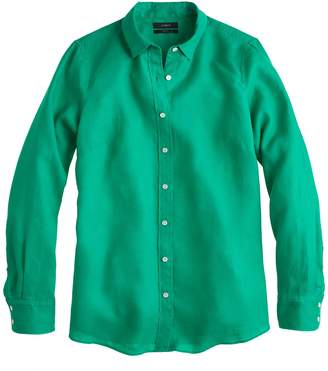 J.Crew Perfect shirt in linen