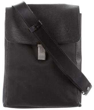 Louis Vuitton 2017 Taiga Saratov PM Messenger Bag