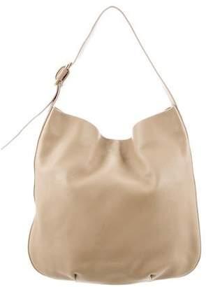 Shinola Leather Hobo Bag