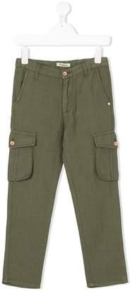 Nupkeet cargo pocket trousers