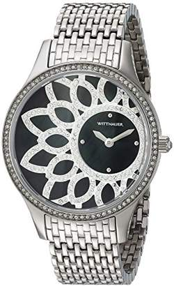 Bulova Women's Quartz Stainless Steel Casual Watch, Color:Silver-Toned (Model: WN4084) $318.75 thestylecure.com