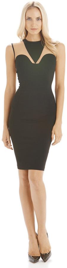 Torn By Ronny Kobo Ofra Dress Mesh Style