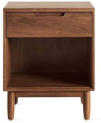 Design Within Reach Raleigh Bedside Table, Brown