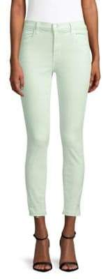 J Brand Alana High-Rise Cropped Jeans