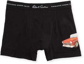 Robert Graham Men's Trunks w/ Side Applique