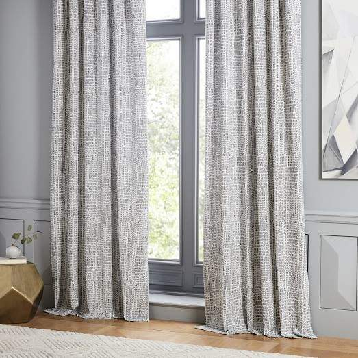 Bomu Cotton Jacquard Curtain