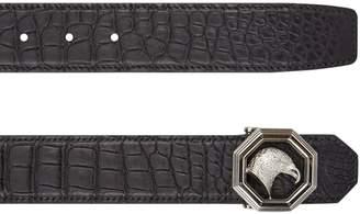 Stefano Ricci Crocodile Belt and Wallet Set